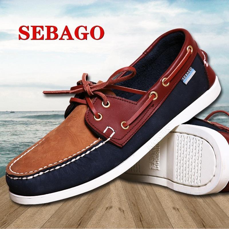 nubuck summer breathable boat shoe