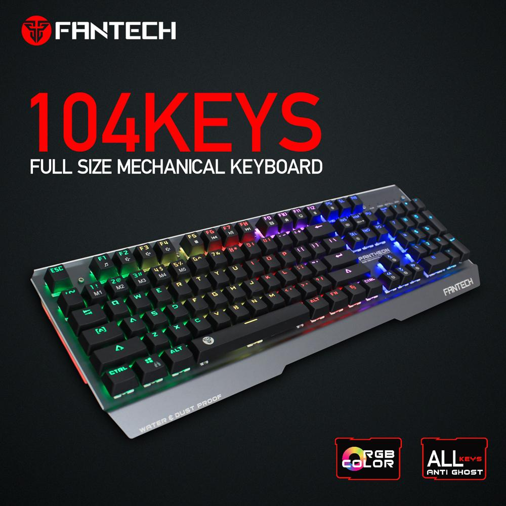 A4tech Bloody B810r Light Strike Rgb Animation Gaming Keyboard Fesyen Steelseries Apex M650 Mechanical Red Switch Fantech Pantheon Mk881 Color Blue Keys Water Dust Proof