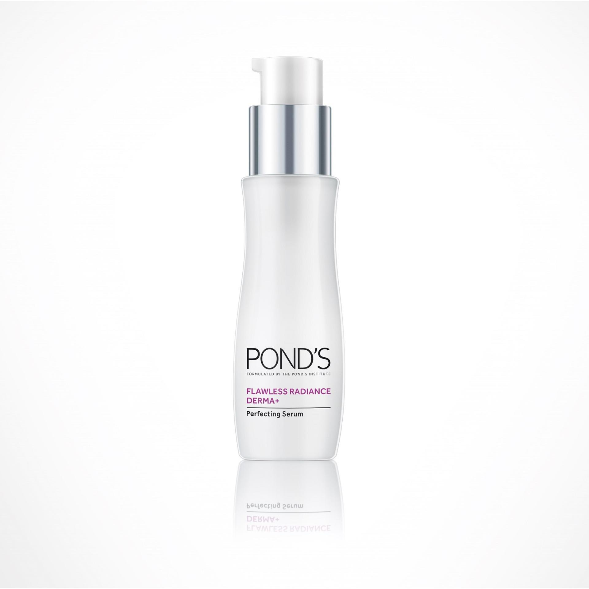 The Price Of Ponds Flawless Radiance Derma Perfecting Serum 30ml Daily Moist 50g Complete Product Preview