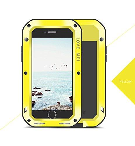 CINTA MEI untuk iPhone 8 PLUS Case, dengan Gorilla Glass Ekstrim Pelindung Hibrid Sabuk Konveyor Shockproof Cuaca Debu/Casing Antikotor Tahan Case dengan Tugas Berat Militer Case untuk I8 Plus-Intl