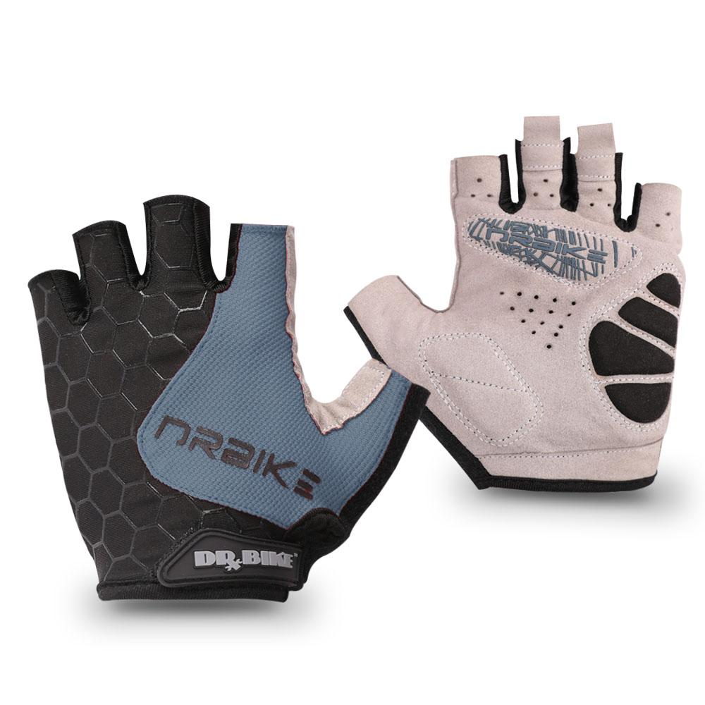 Drbike Cycling Half Finger Gloves Bicycle Mountain Bike Breathable Bike Gloves Bicycle Accessories for Outdoor Sports