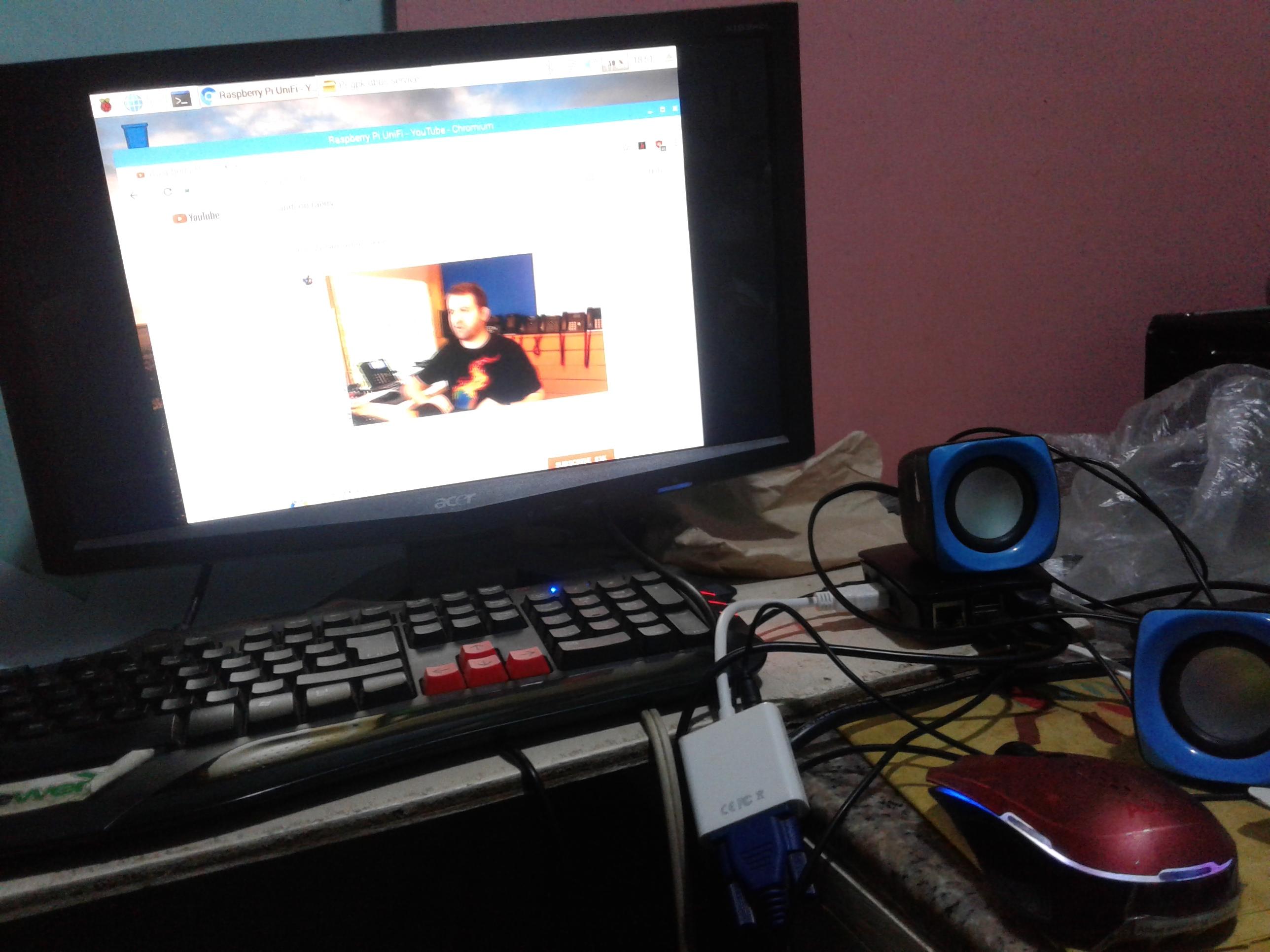 Unifi Raspberry Pi