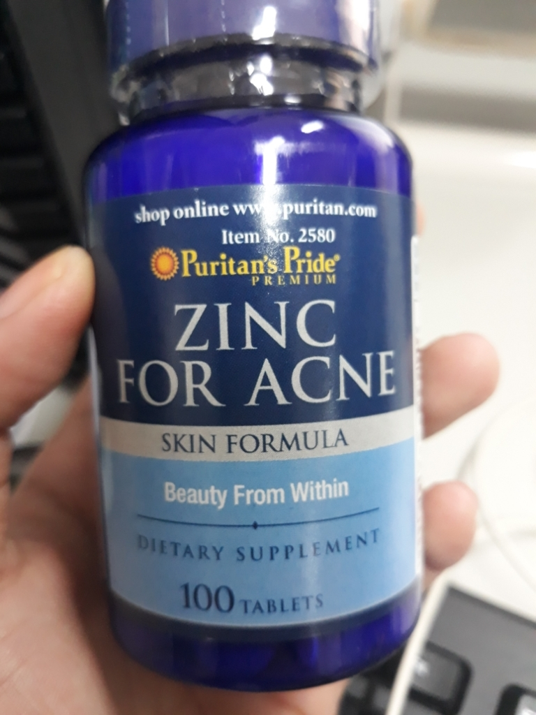 Puritan S Pride Zinc For Acne 100 Tabs Set Of 1 Bottle Lazada Ph