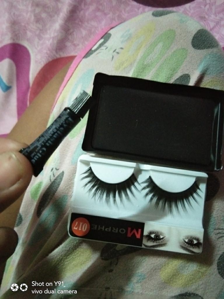 e291f6a4b03 Morphe Fake Eyelashes With Glue 10 Pairs (SP017) | Lazada PH