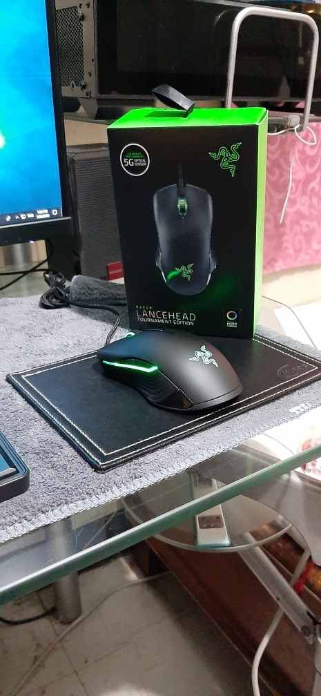 Razer Lancehead Tournament Edition Chroma 16,000dpi Ambidextrous Gaming  Mouse with Mechanical Mouse Switches