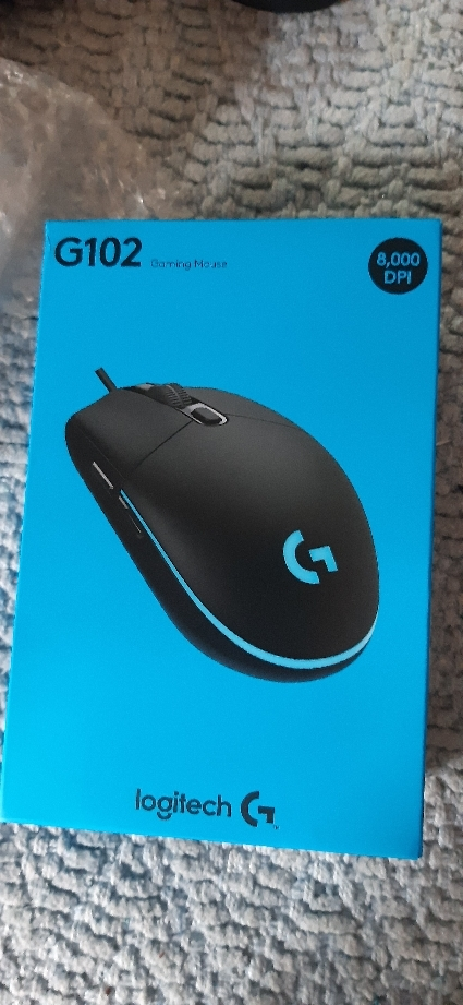 Logitech G102 Prodigy Programmable RGB Gaming Mouse