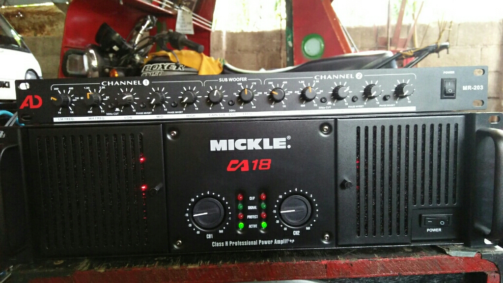 Ca 18 amps