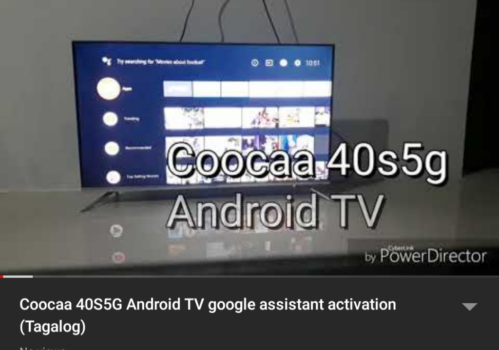COOCAA 40 Inch Android Smart Frameless FHD LED TV - Slim Wifi (Model 40S5G)