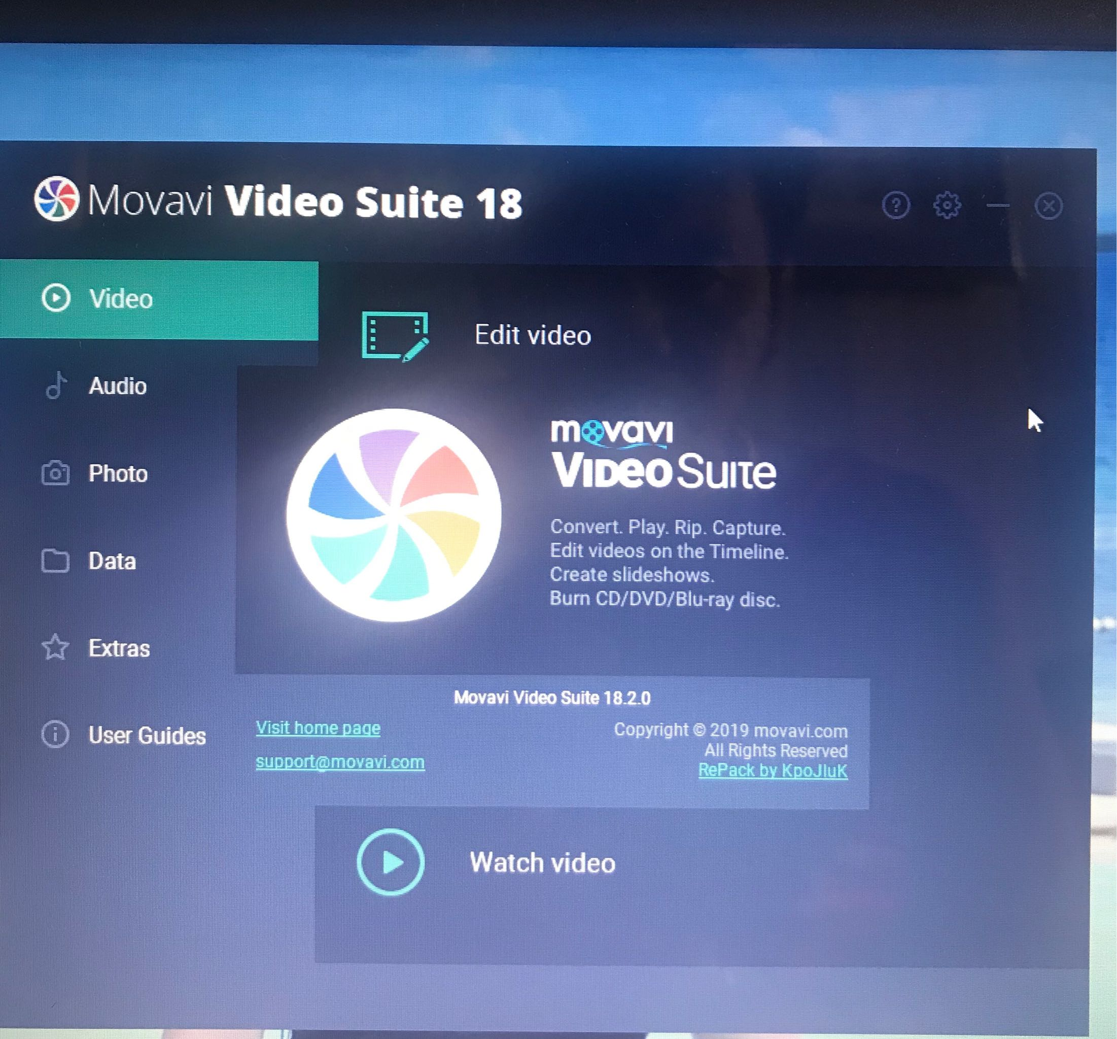 Movavi Video Suite 18 Windows