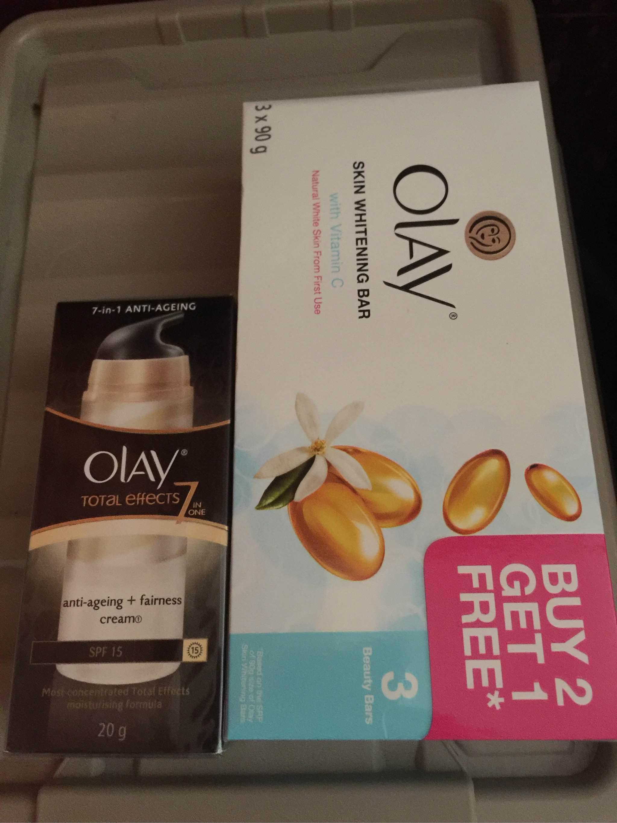 Olay Bar Soap with Vitamin C 90g - 3 Pieces | Lazada PH
