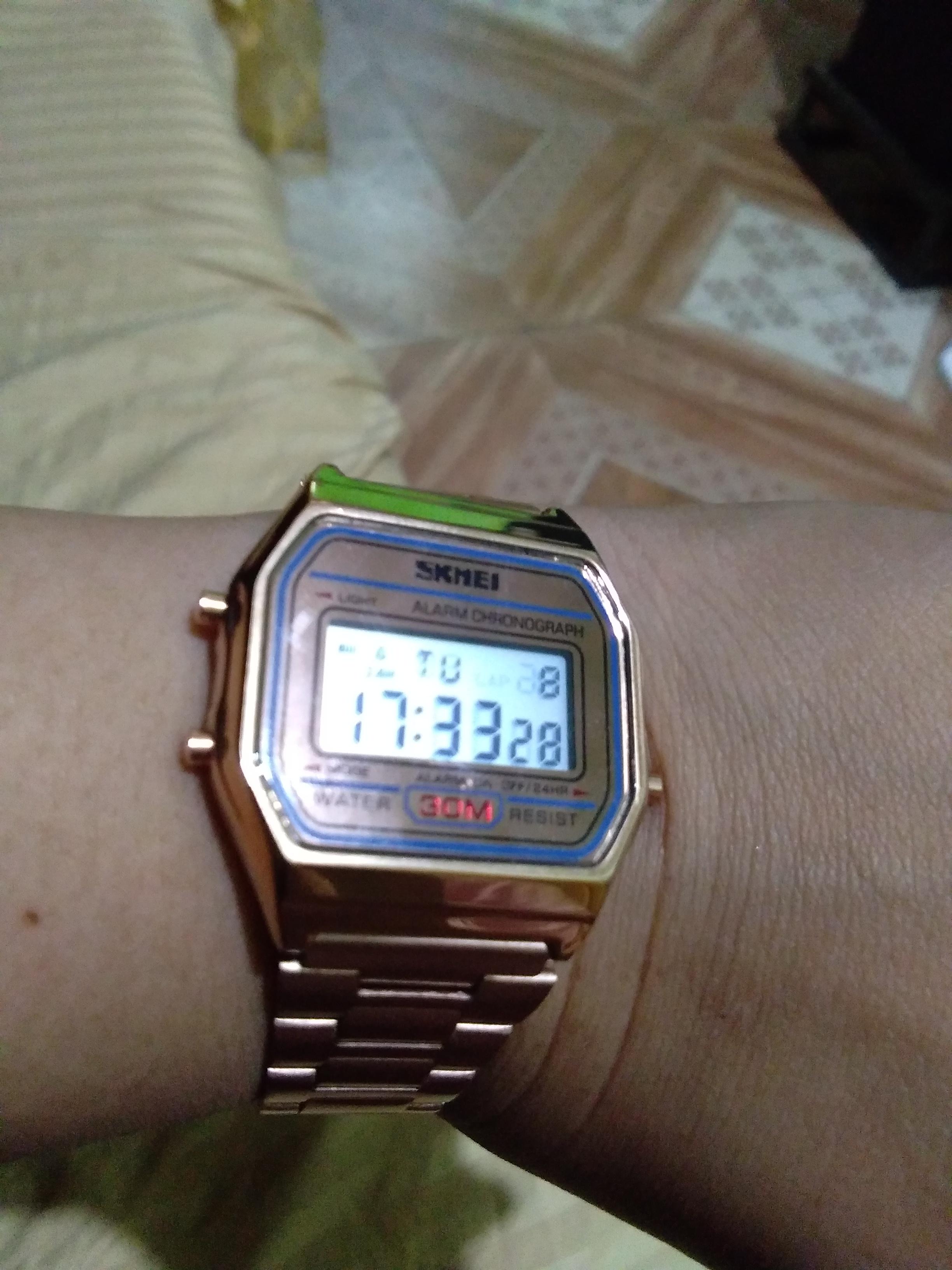 b9e1982a3d0 Skmei Stainless Steel Unisex Watch 1123 (Rose Gold)