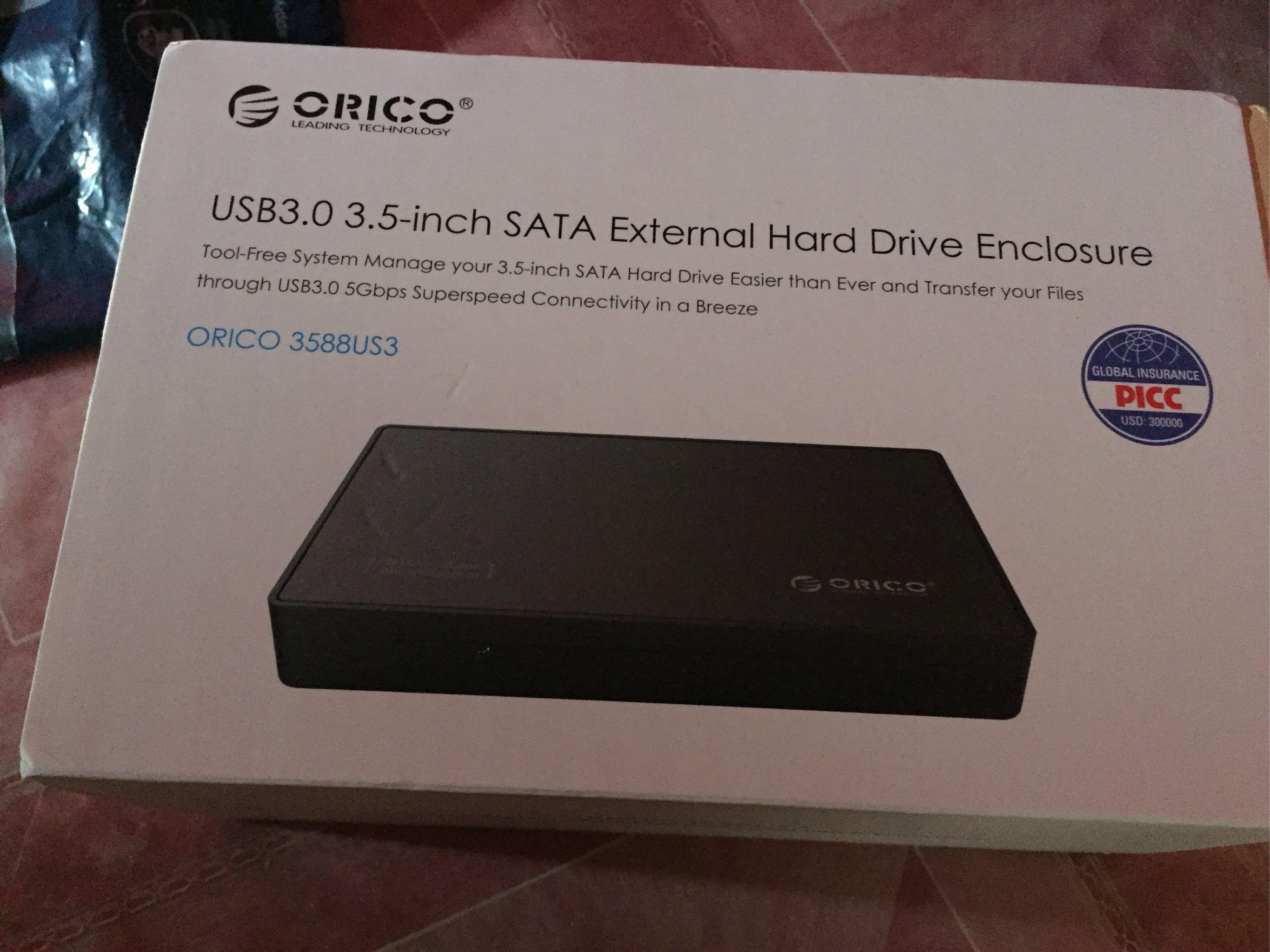 7219943571b Orico 3588US3 Super Speed USB 3.0 to 3.5