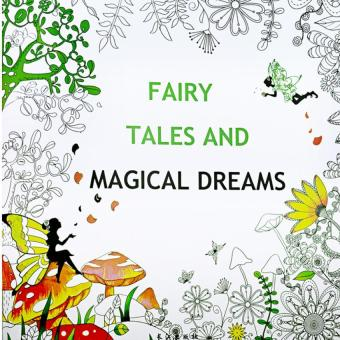 1pcs Fairy Tales And Magical Dreams 2016 New Secret Garden An Inky Treasure Hunt Coloring Book For Children Adult Relieve Stress Kill Time Graffiti