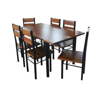 Wooden Dining Set 6 Seater (169A) Part 96