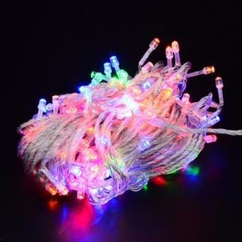 mabuhay star 80 led bright and vivid colors string lights christmas lights multicolor - Teardrop Christmas Lights