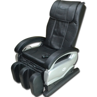 massage chair for home. huijun sports home and office spa massage chair (black/silver) for