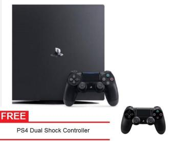 sony ps4 console. sony playstation ps4 pro 1tb (black) with free dualshock controller ps4 console