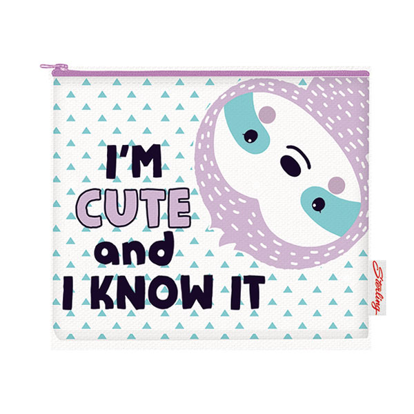 Image of Sterling I'm Cute and I Know It Big Fabric Pouches