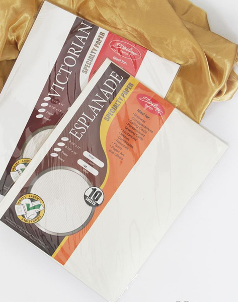 Image of Sterling Esplanade Specialty Paper 30 sheets - 8.5'' x 13'' 180gsm