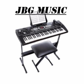 Alesis Melody 61 Keys keyboard w/ bench & stand