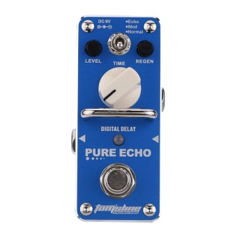 AROMA APE-3 Pure Echo Digital Delay Electric Guitar Effect Pedal Mini Single Effect with