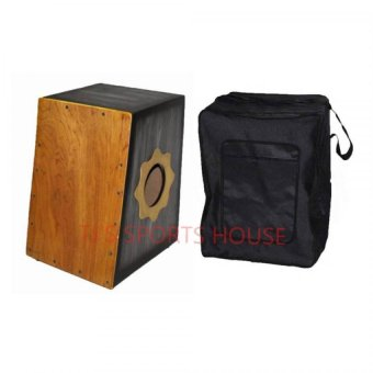 Beatbox Cajon with Case (Black)