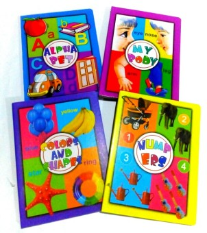 Beginners Colors and Shape with Numbers Book Bundle with Alphabetand My Body Book Price Philippines