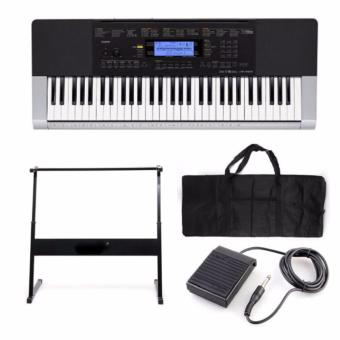 Casio CTK-4400 Personal Keyboard With FREE Stand, Sustain Pedal,and Keyboard Bag