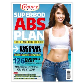 Century Tuna Superbod Abs Book - Jessy Mendiola Cover Price Philippines