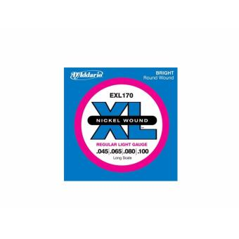 D'Addario EXL170 Long Scale Regular Light Gauge Round Wound .045-.100