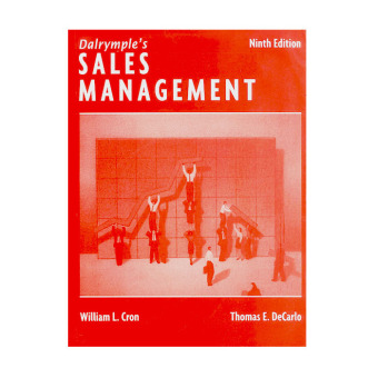 Dalrymple's Sales Management 9th Edition (Cron/DeCarlo) Price Philippines