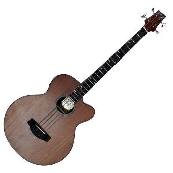 D&D BATHALA Acoustic Bass Guitar with Active Pick Up (Mahogany)