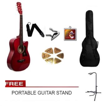 Best Buy Arena Acoustic Guitar Red With Bag Prices Philippines