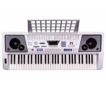 DAVIS D188 Electronic Keyboard (Silver) Price Philippines