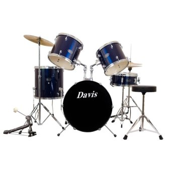 Davis DRS-03 Drum Set (Blue) Price Philippines