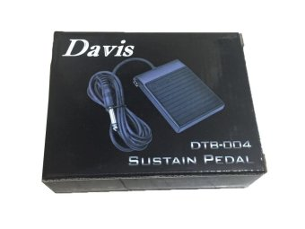 Davis Sustain Pedal Foot Switch Cable for Keyboard