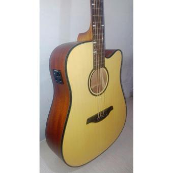 DnD Django Acoustic Guitar with Pickup (Natural)
