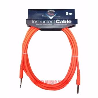 Fender 5 Meters Fender Cable for Piano & Guitars (Orange)