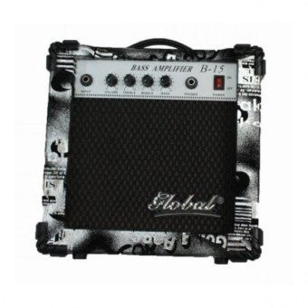 Global BA-15 15W Bass Guitar Amplifier (Black)