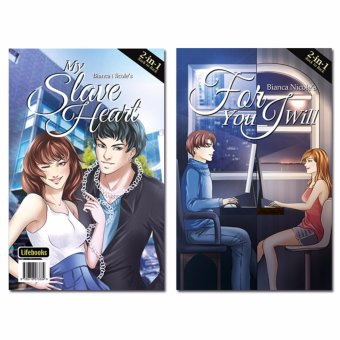 Harga 'My Slave Heart' + 'For You I Will' by Bianca Nicole