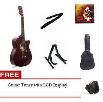 Harga Davis Acoustic Guitar Package (Brown)