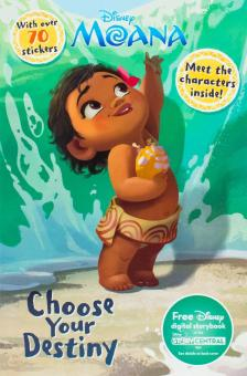 Harga Disney Moana Choose Your Destiny Meet The Characters