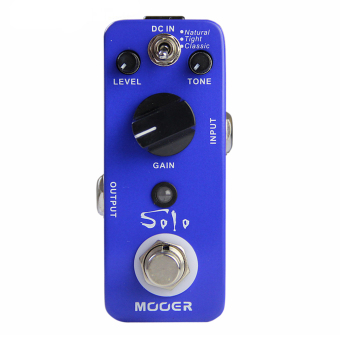 Harga Mooer Solo Distortion Pedal Electric Guitar Effect Pedal True Bypass