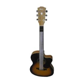 Harga Lyon by Washburn 4EQ Acoustic Electric Guitar (Sunburst)(Brown)