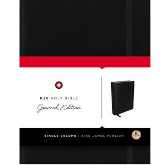 KJV Holy Bible Journal Edition Black (Hardcover) Price Philippines