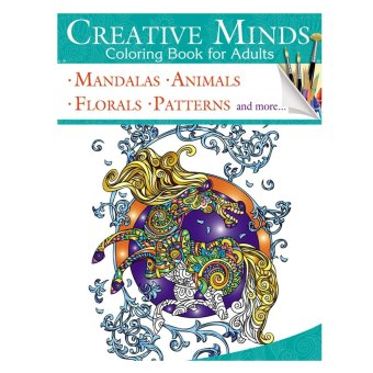 Harga Creative Minds Coloring Books For Adults 5
