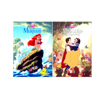 WS Disney Paperback Picture Books Set of 2 (Little Mermaid & Snow White) Price Philippines