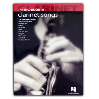 Harga Music Book: The Big Book of Clarinet Songs