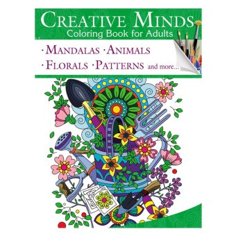 Harga Creative Minds Coloring Books For Adults 10