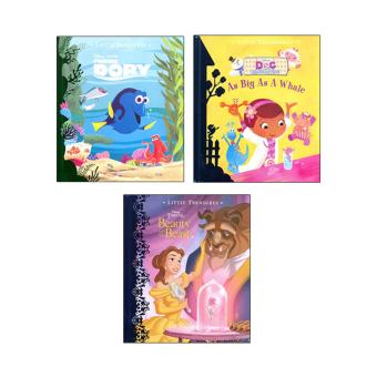 WS Disney Little Treasures Set Of 3 (Beauty & The Beast,Doc Mcstuffins,&Dory) Price Philippines
